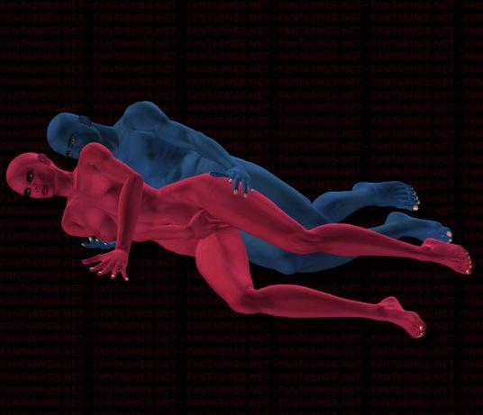 le massage erotique cuillère position